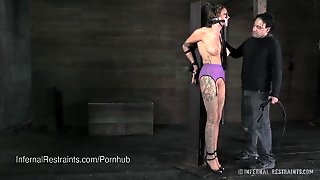 Rain Degrey Bound And Whipped In Sexy Lingerie