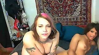 Two Shemales On Webcam