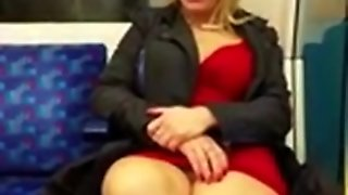 Public Flashing Hot Milf