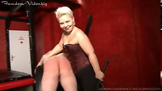 Femdom, German, Domination, Caning, Bdsm, Whipping, Slave, Submissive, Spanking