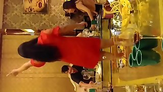 Chinese Wife Dancing In The Club