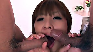Dazzling Hot Japanese Threesome