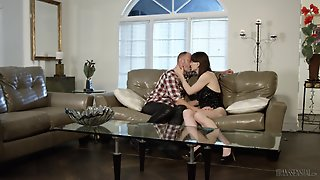 Tattooed Guy Finally Gets To Fuck Shemale Natalie Mars Until He Cums