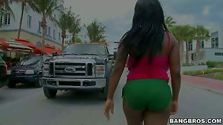 Maserati Is A Kind Of Black Chick With Juicy Ass