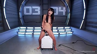 Marica Hase Fucked By Machine