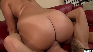 Briella Bounce - Round And Juicy Butt