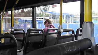 Wank On The Bus 408