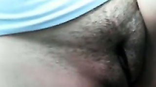 Hairy Pussy Up Close