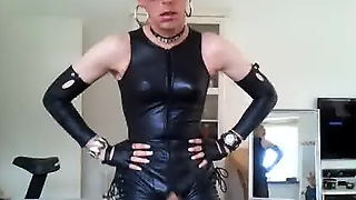 Sissy In Leather 2