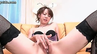 Hot Teen Asian In Stockings