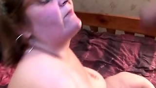 Mature Blonde Gets Fingered And Blows Cock