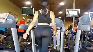 Bbw Latina Gym With The Biggest Ass In The World