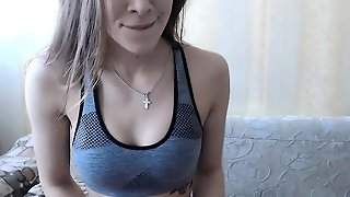 Teen Girl Solo Striptease