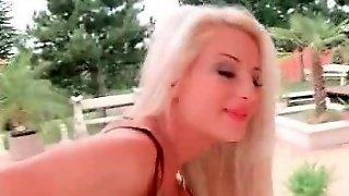 Hd Cute Tiny Blonde Enjoys Anal Sex