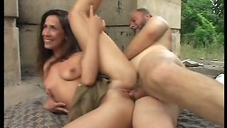 Ass, Pussy, Outdoor, Riding, Cfnm, Small Tits, Brunette, Teens, Older Man, Public