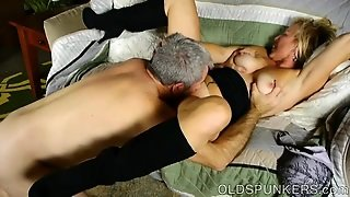 Super Sexy Old Spunker Loves It When You Cum In Her Mouth