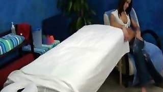 Horny Teen Caught On Massage Room Spy Cam!