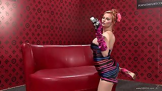 Glamour Lesbians Mandy Snow And Tarra White Play With Dildos