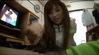 Jav Girl Home Handjob