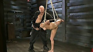 Bdsm Anal, Hard Throat, Anal Deepthroat, Tied Up Bdsm, Tied Up And Anal, Very Deep Anal, Gets Tied Up, Its Hard