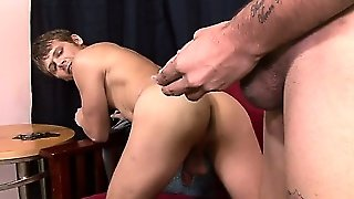 Blindfolded Str8 Latino From Texas Gets His Thick 9'' Cock Sucked By Another Dude For The First Time