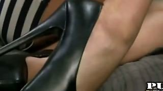 Feet And A Handjob