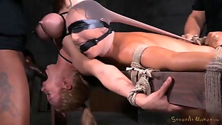 Two Slaves In The Dungeon Used Hard By Masters