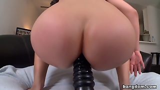 Asian Porn-Star Fucked In The Ass By Big...