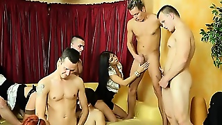 Bisexual, Hd, Group Sex, Hardcore, Threesome
