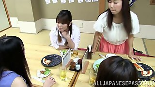 What An Intense And Steamy Lesbians Scene Along Very Horny Asian Sluts