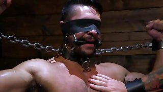 Chained And Blindfolded
