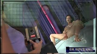 Amateur Girl Takes On The Sybian