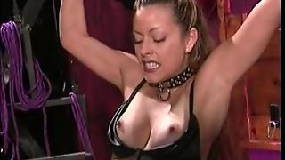 Small Tits Hottie Gets Her Tits & Pussy Teased