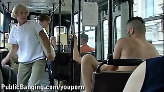Public Sex In A Bus Part 2