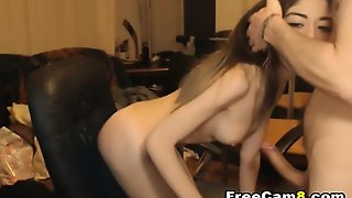 Blowjob With Hardcore Drilling