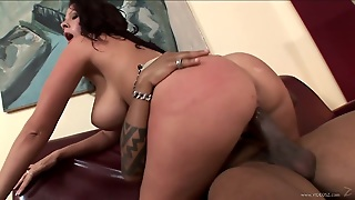 Kinky Gianna Michaels Gets Fucked Rough In An Interracial Video