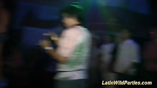 Cute Latinas In Wild Party Orgy
