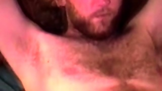 Hungry Mature Bear Sucking Southern Cock And Loves It