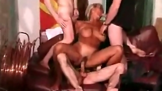 Gangbang Archive - Blonde Milf Gangbanged In Ass And Pussy