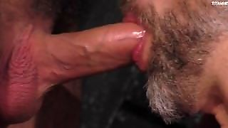 Daddy Dirk Slurps On The Uncut Beauty Of Foreskin Then Fucks His Hot Boy
