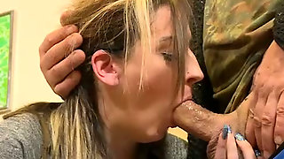 Too Pale And Ordinary Looking Bitch Kyra Night Rides Stiff Cock Of Ugly Man