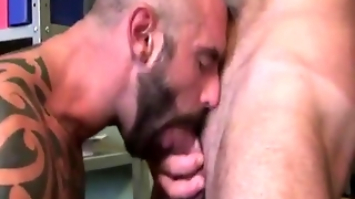 Rimjob For Gay Stud At The Office