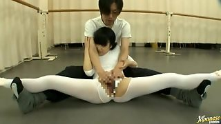 Beautiful Japanese Teen Ballerina Rewarded With A Hard Fucking