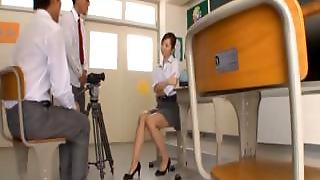 Kaori Hot Japanese Teacher Getting Part6