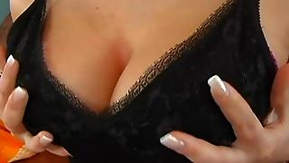 Rough Doggy Style Pounding For Large Tits Honey