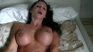 Stepmom On Bed