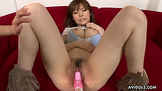 Busty Japanese Beauty Loves Toys