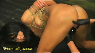 She Gets A Lesson In Lesbian Femdom