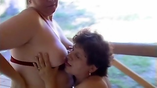 Bbw Housewives Sneak Out To The Woods For Lesbian Sex