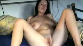 Big Boobs, Brunette, Masturbation, Webcam
